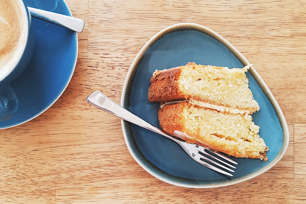 Lemon cake at Mitre, Earlham Rd, NorEats